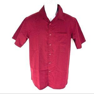 Oakley Men's Red Button Shirt S